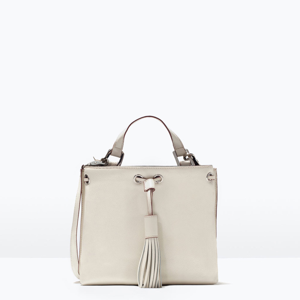 LEATHER BUCKET BAG 69.99 USD