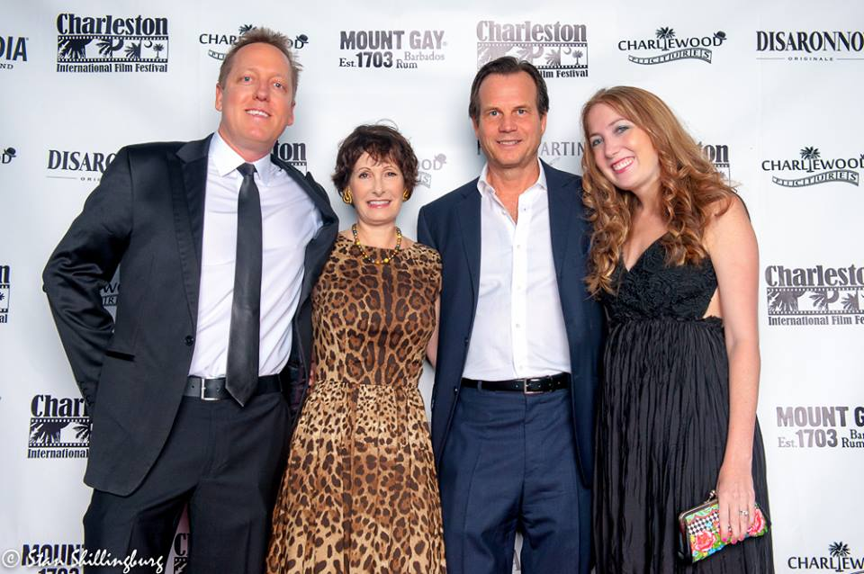 Brian Peacher (Co-Founder), Gale Anne Hurd (Producer), Bill Paxton (Actor) and Summer Peacher (Co-Founder)