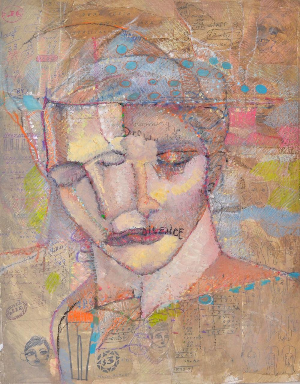 Oil Pastel by Vincent Castaldi