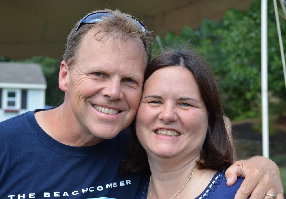 Jim and Sharon