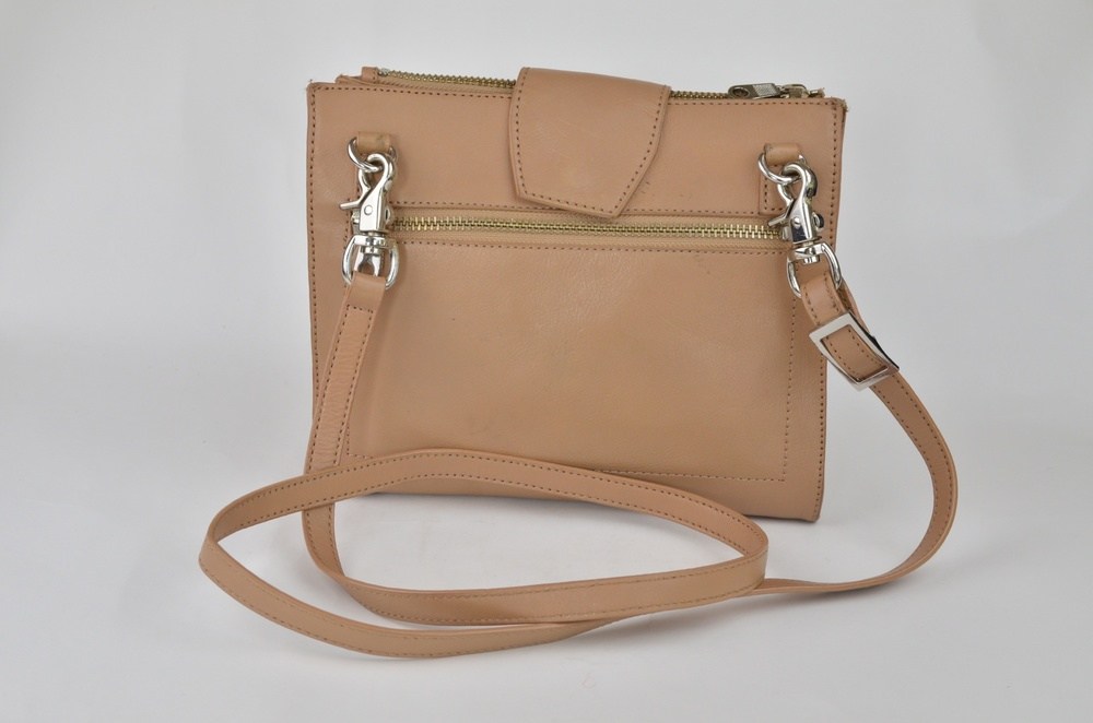 20. DKNY Cross-Body Tan