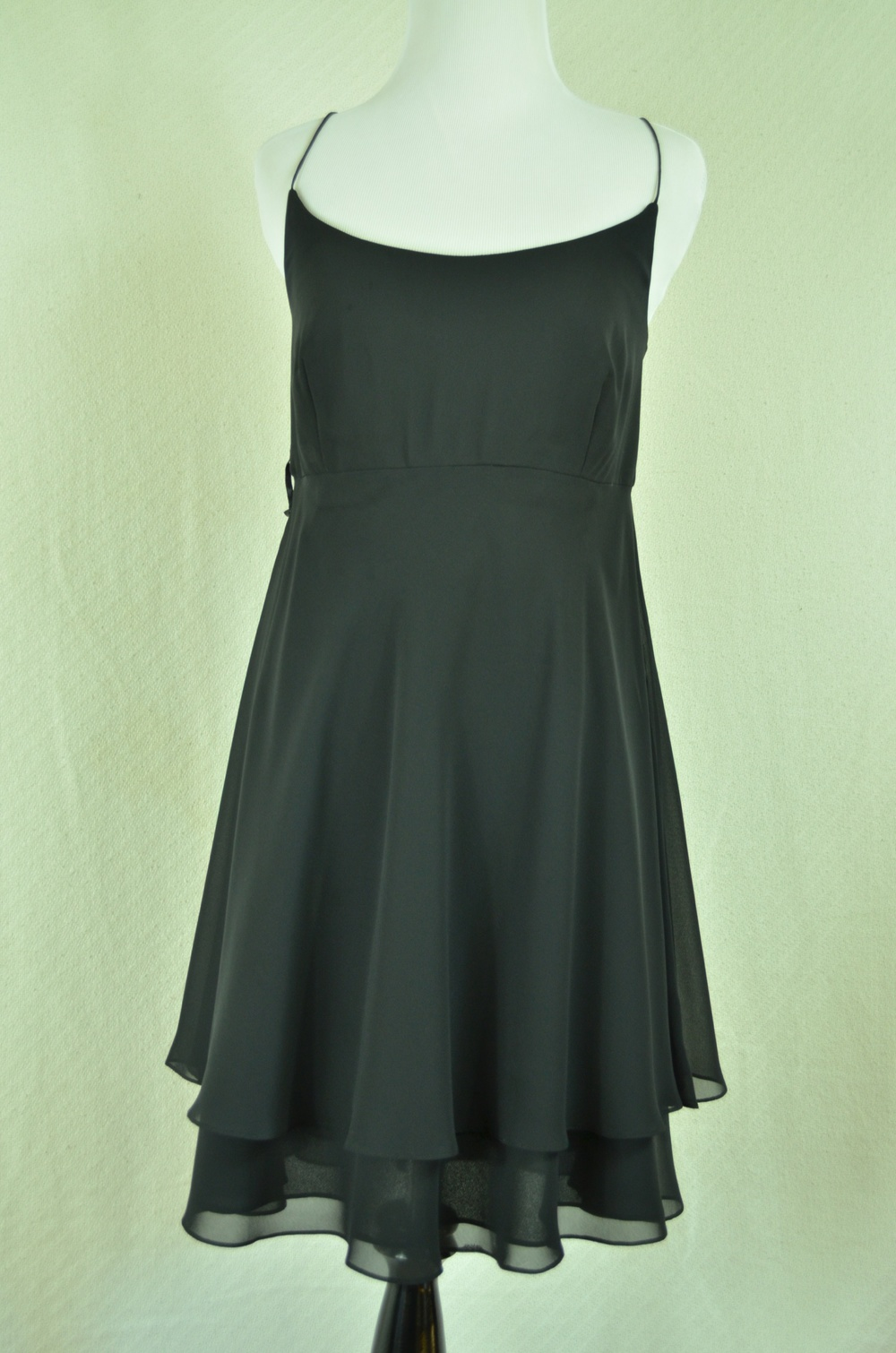 33. Empire Waist Chiffon LBD - no label