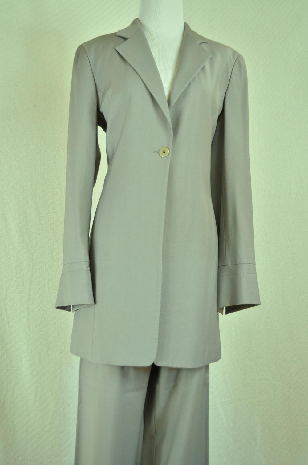 45. Armani Collezioni Vintage Gray Suit
