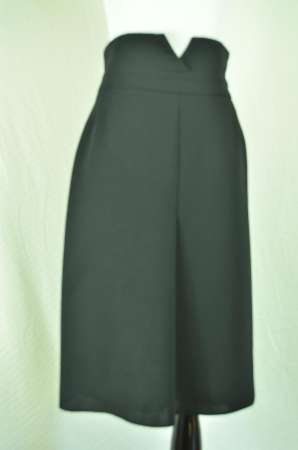 51. Giorgio Armani High-Waister Skirt