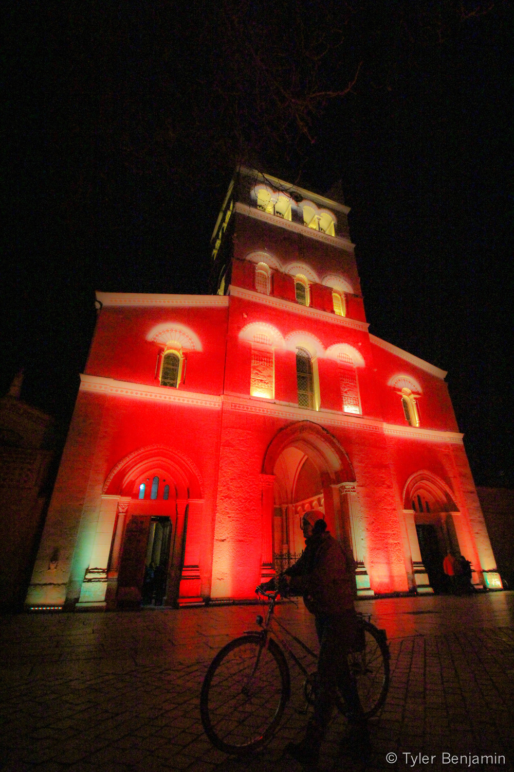 Red lit church Lyon.jpg