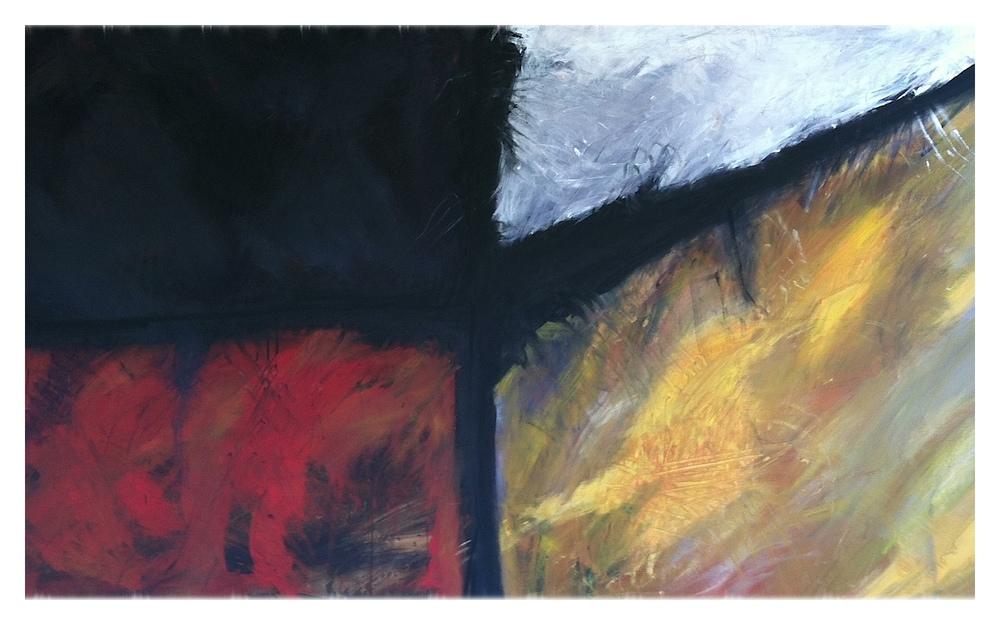 Brett Stokes Acrylic on Oil