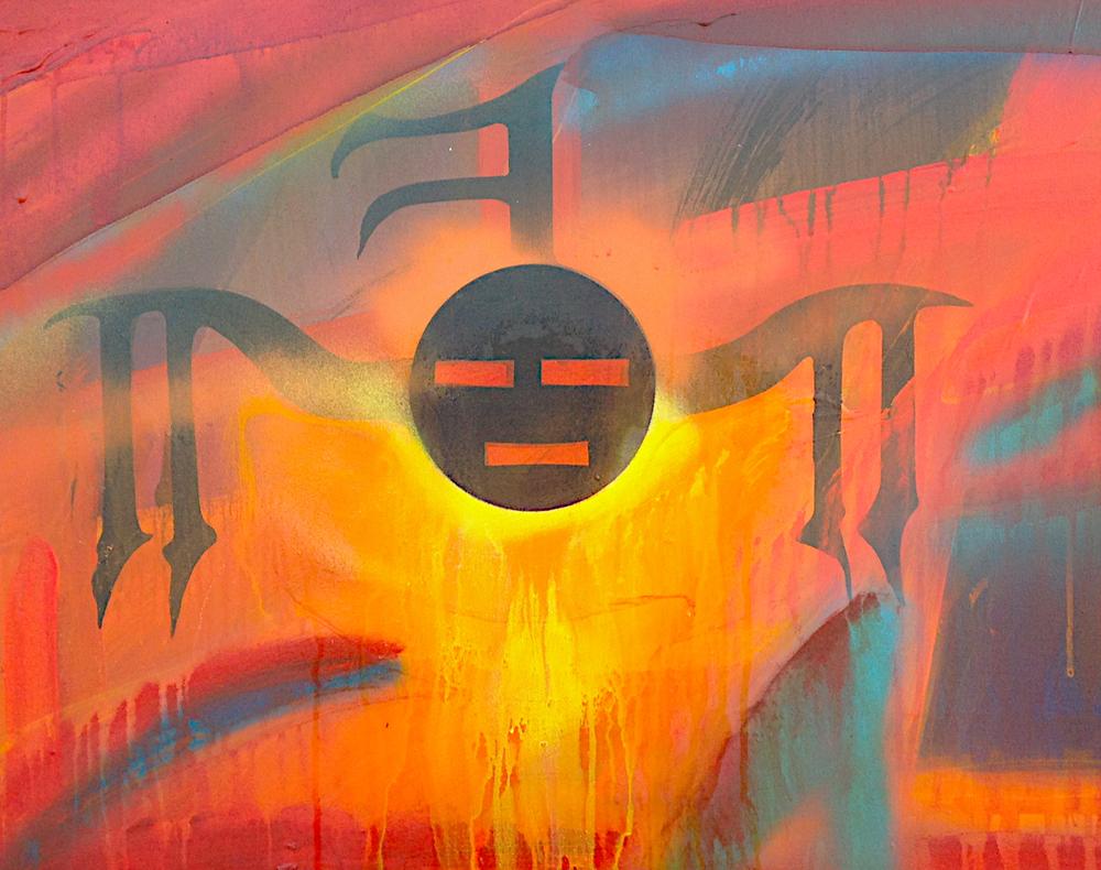 Brett Stokes Acrylic on Canvas