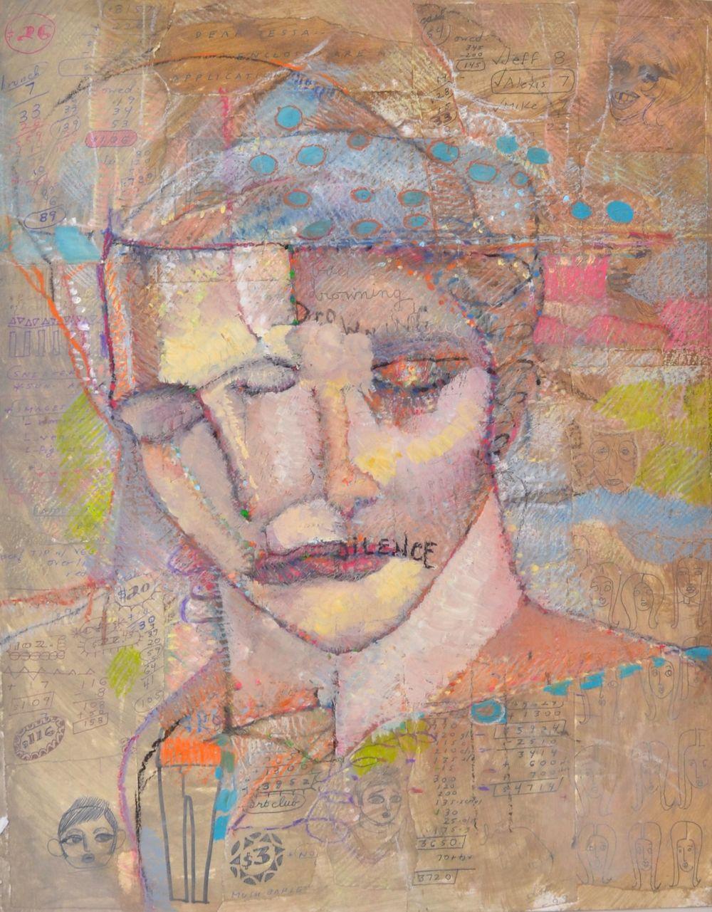 Vincent Castaldi Oil Pastels