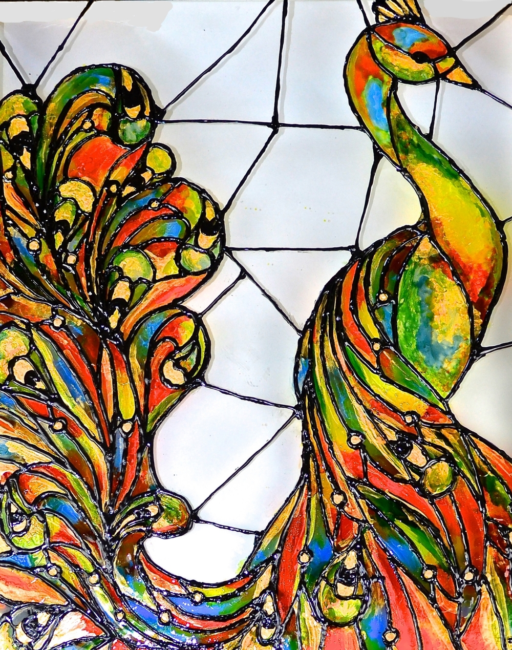 Jason Andrade Glass Paintings