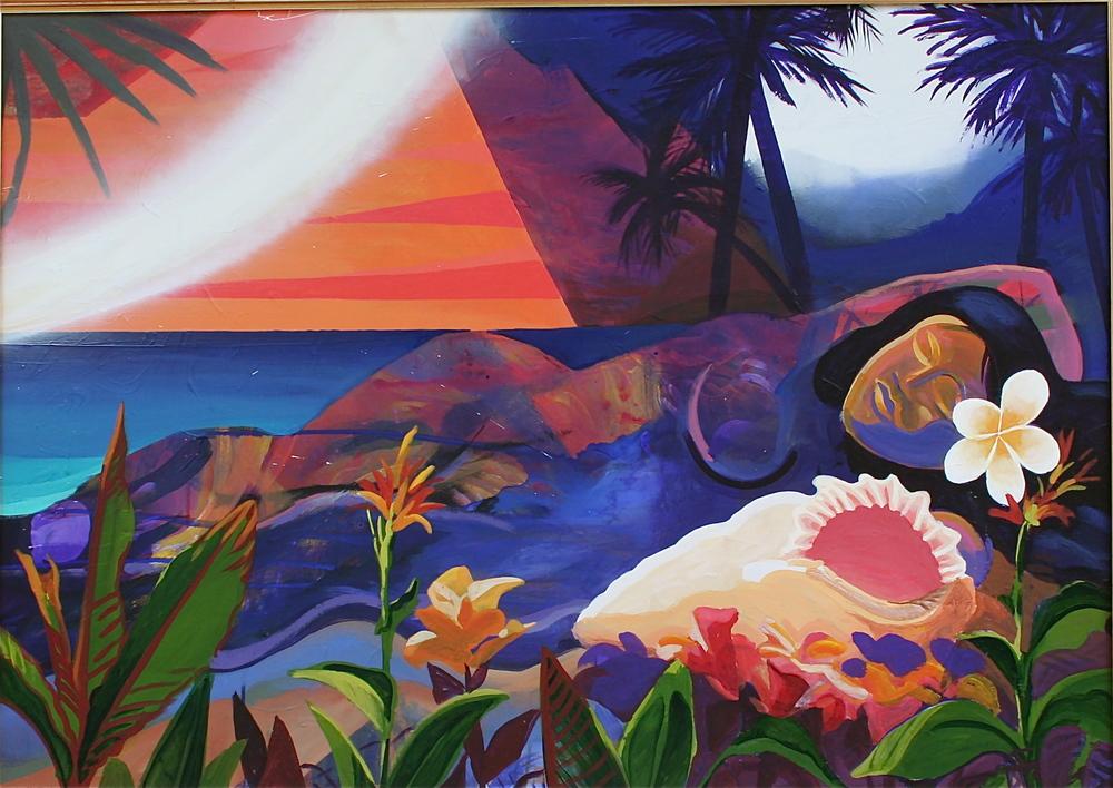 """Tahiti"" Prints by Brett Stokes"