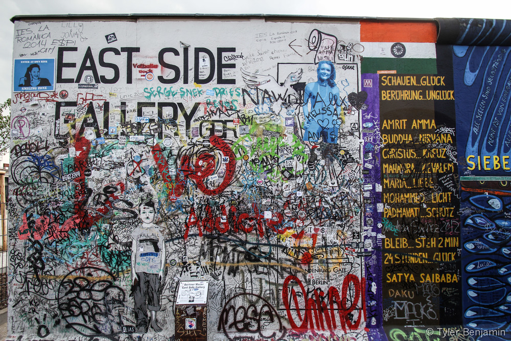 """Berlin Wall East Side"" by Tyler Benjamin"