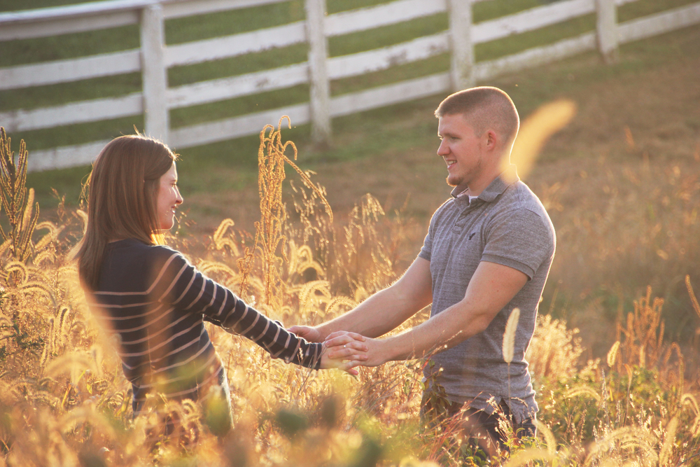 ANNA & BRENT - HARRODSBURG ENGAGEMENT PHOTOGRAPHY