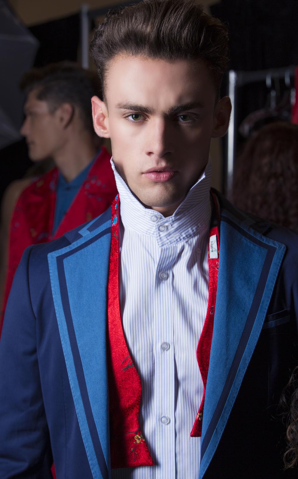 2014 NYC Fashion Week Malan Breton