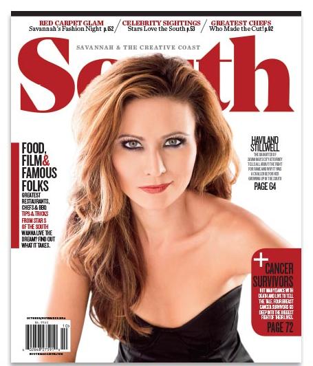 Magazine Cover  Haviland Stillwell  October 2014