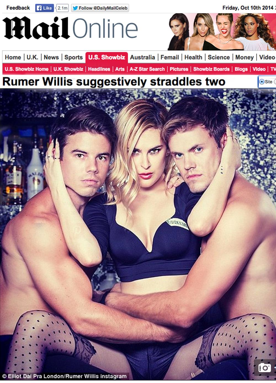 Actress Rumer Willis i n Los Feliz 90027