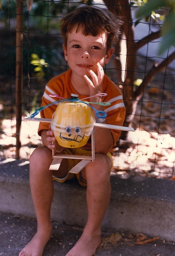 me. age 5