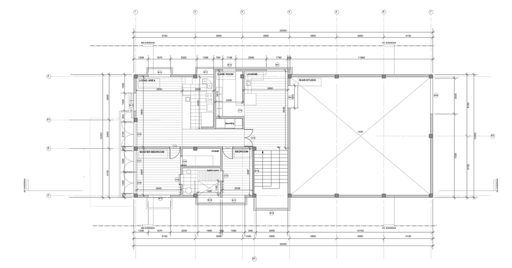 splice studio : first floor plan