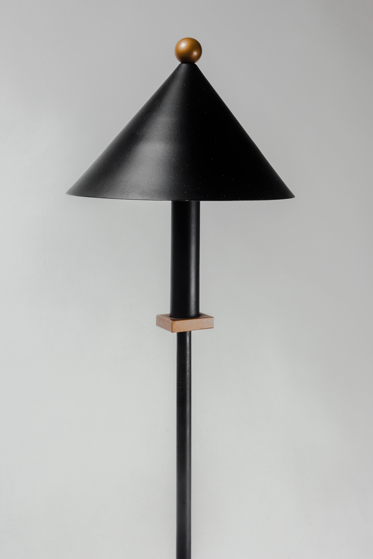 Floor lamp by robert sonneman for kovacs metal in black and gold floor lamp by robert sonneman for kovacs metal in black and gold usa 1980s aloadofball