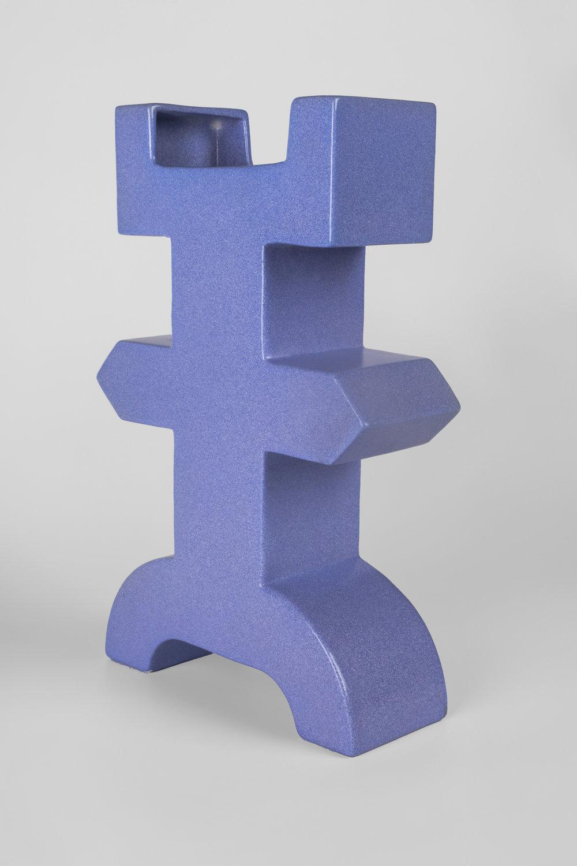 Ceramic vases by Florio Paccagnella for Floria Keramia, Memphis member