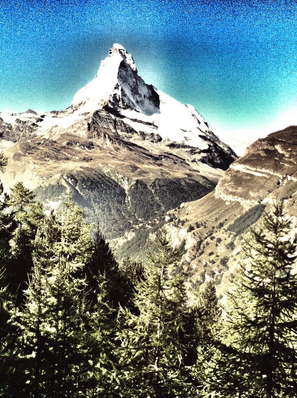 The Matterhorn, Switzerland. A couple of years ago.