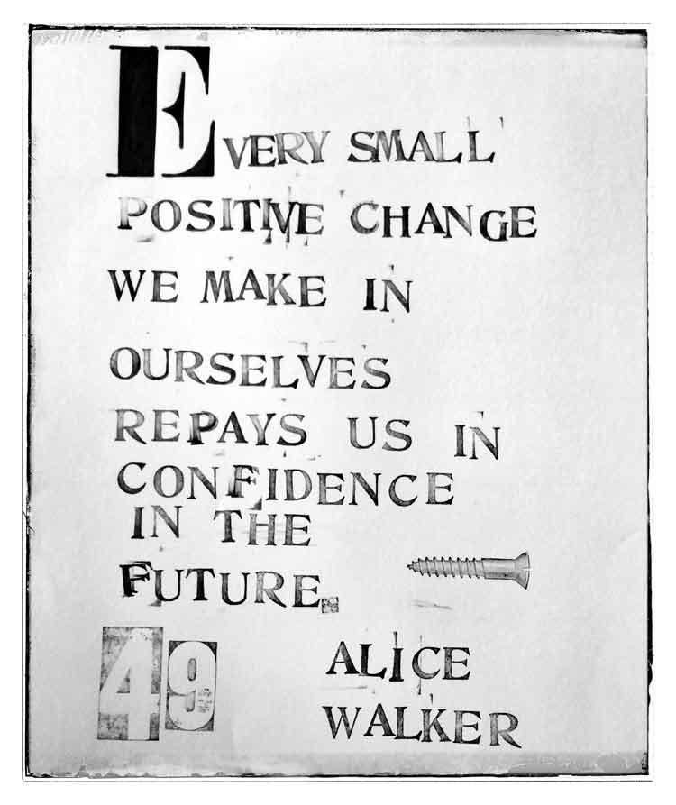 Positive Changes = Confidence