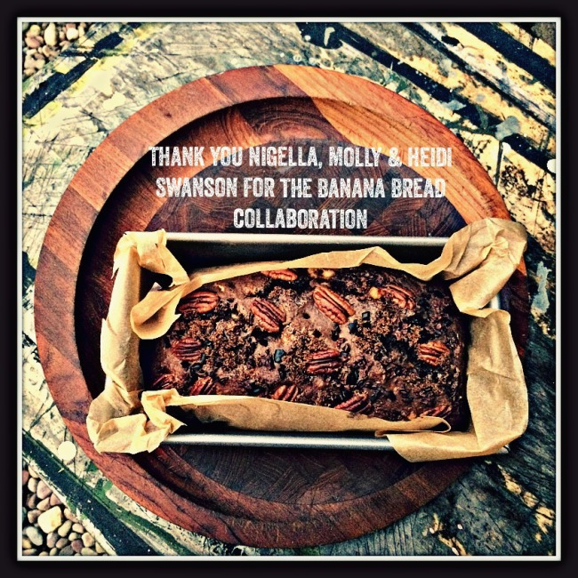 Banana Bread, Nigella, Molly Orangette, Heidi Swanson
