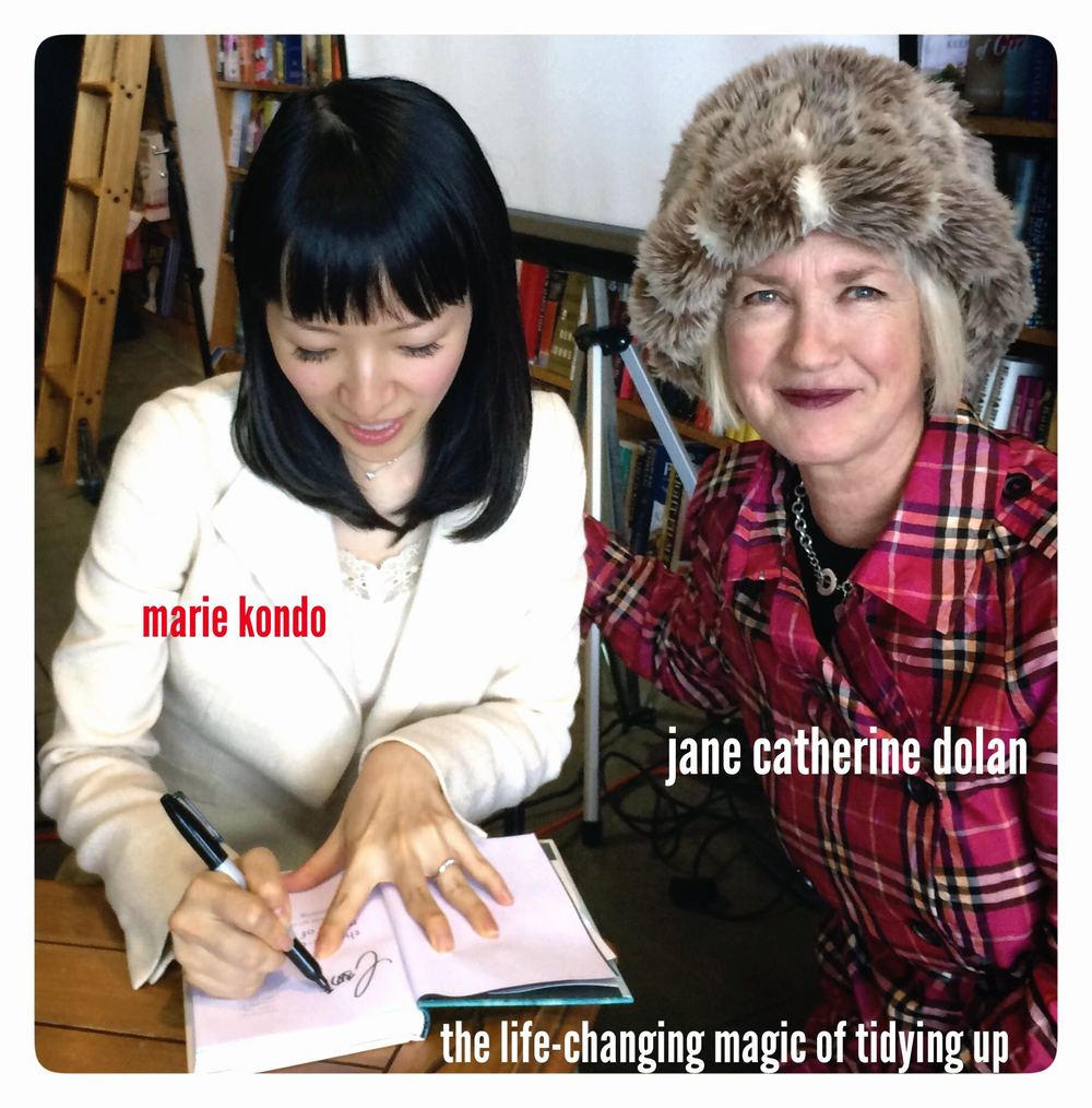 My new best friend, Marie Kondo!