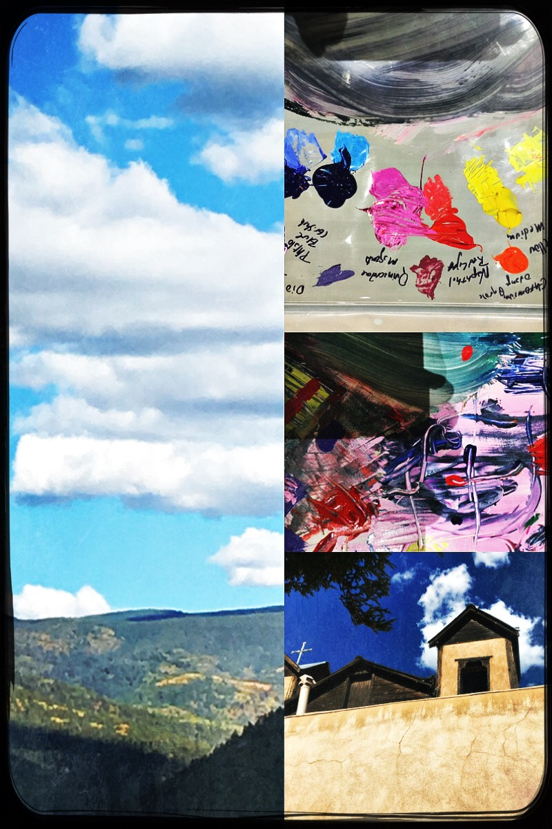 Aspen & color palettes & Chimayo & always experiments