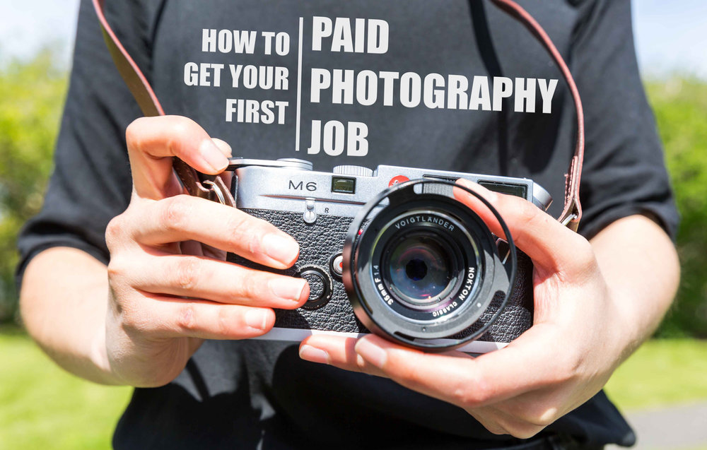 How to get your first job as a Photographer Cultured Kiwi – Job of a Photographer
