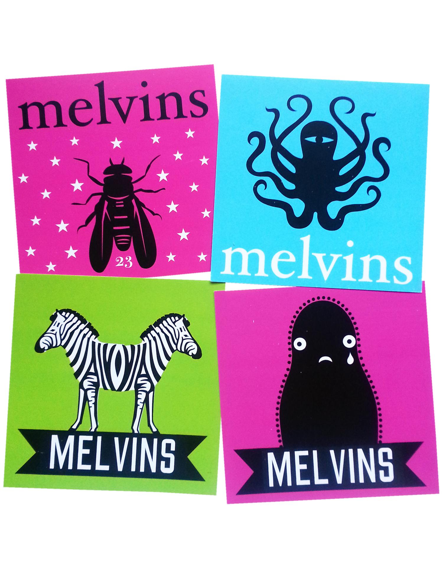 Melvins stoner sticker pack