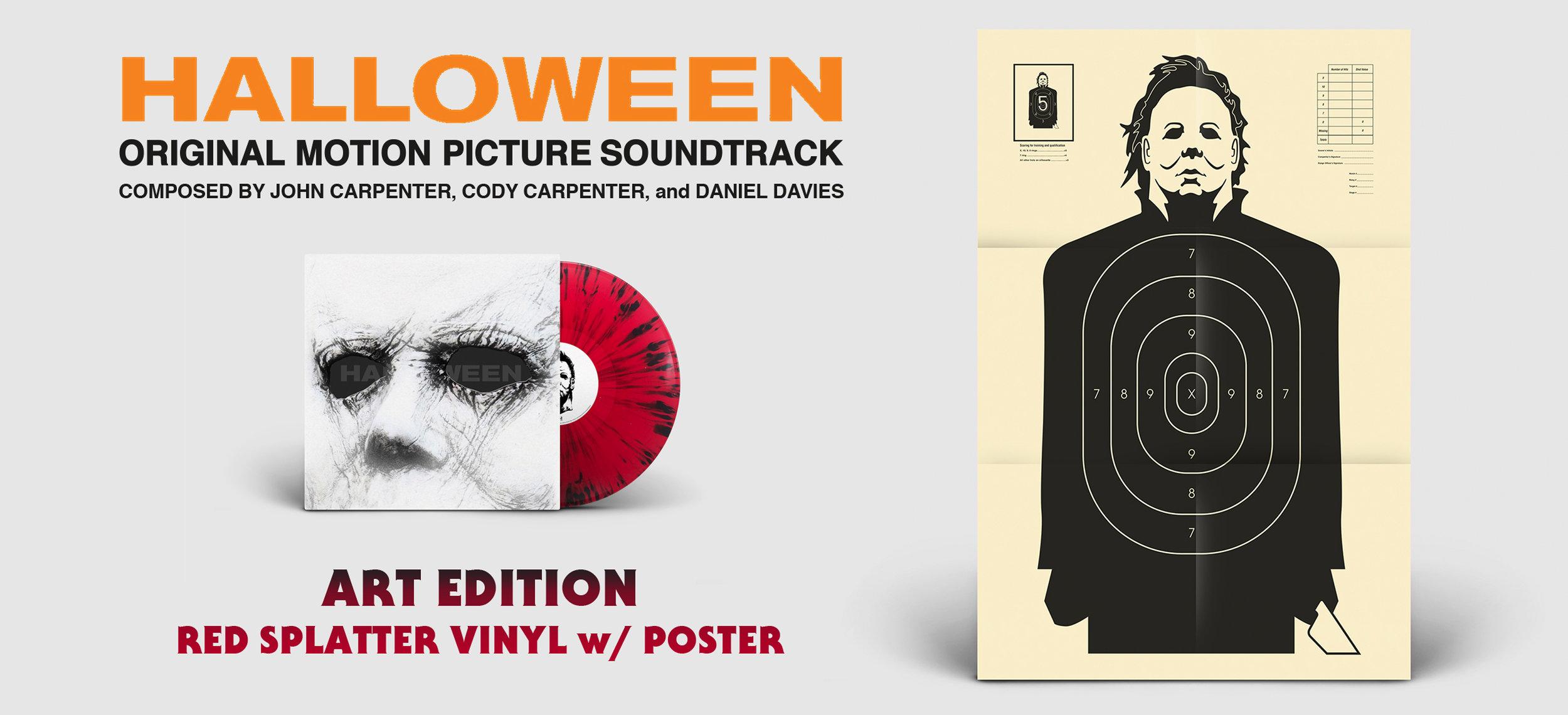 "john carpenter ""halloween 2018"" art edition lp — revolve."