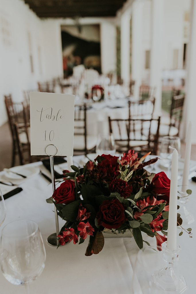 Real Weddings Fall Reception Inspiration Alicia Lucia