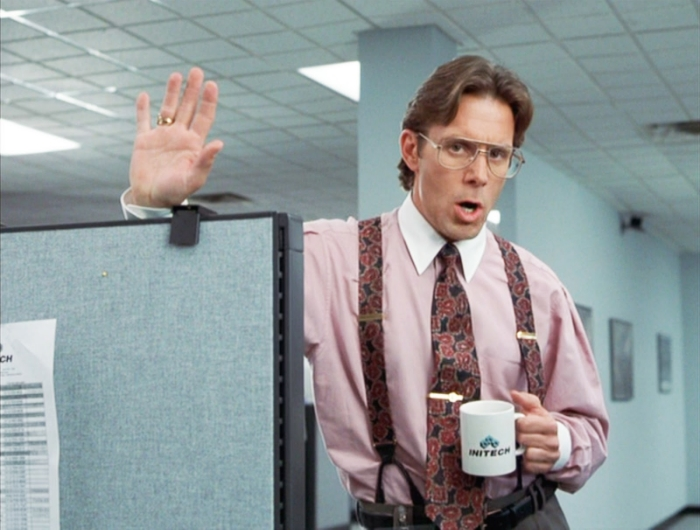 youre a boring banker banker office space