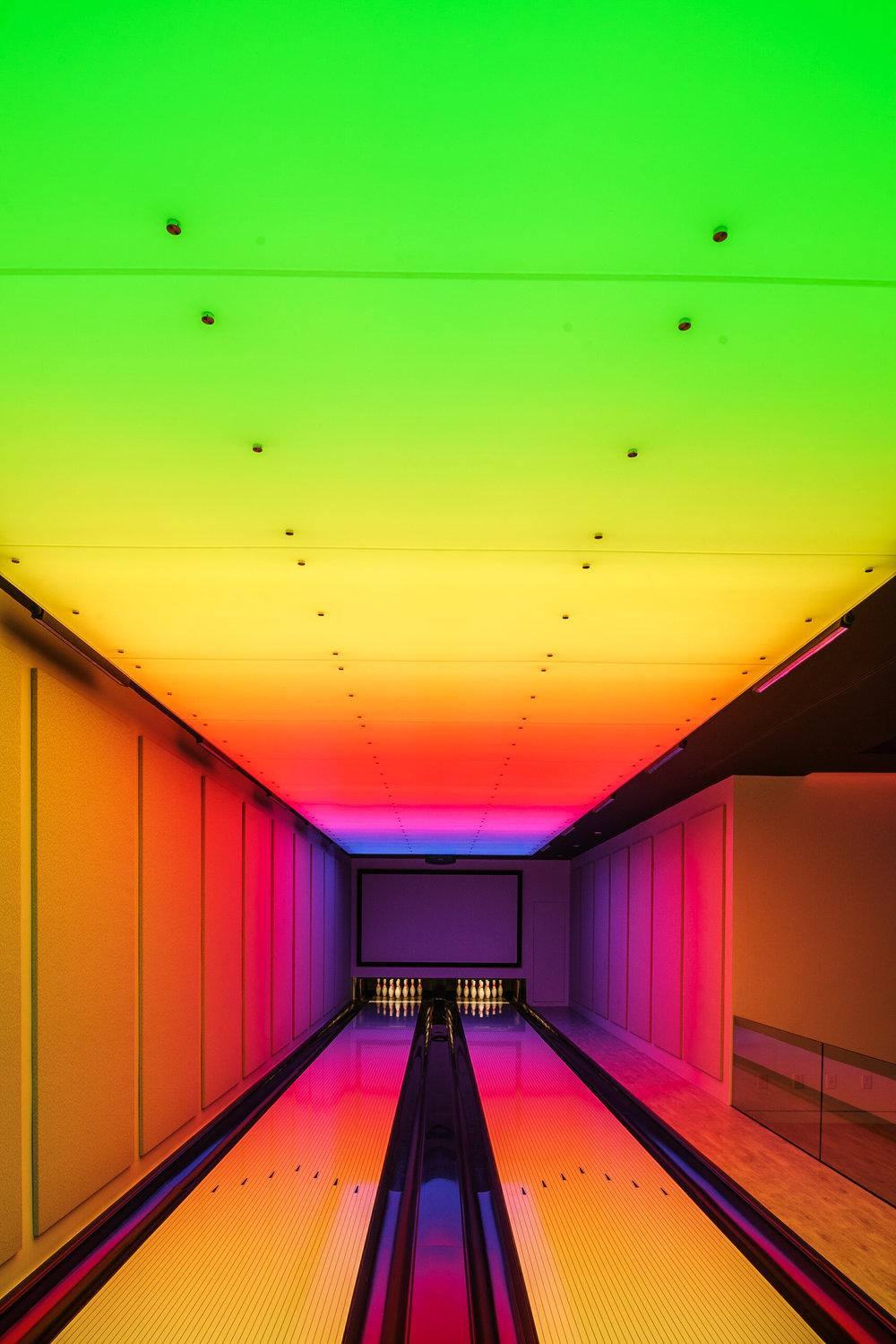 BAHAMAS GAME ROOM - Louise Muir Interiors - NassauOrsman Design (lighting) - NYC