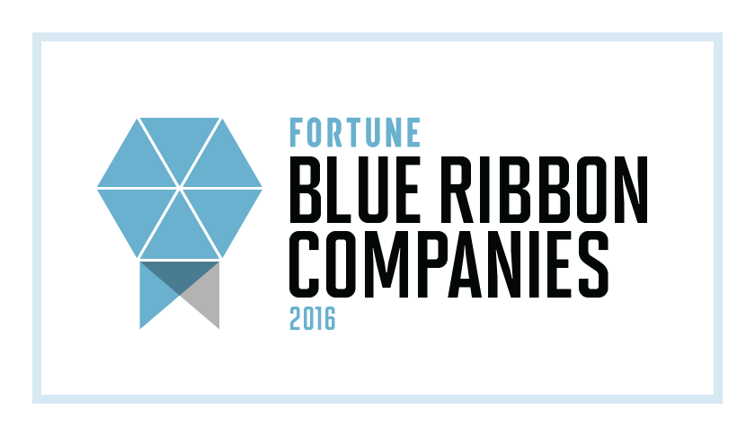 Fortune's Blue Ribbon Companies 2016