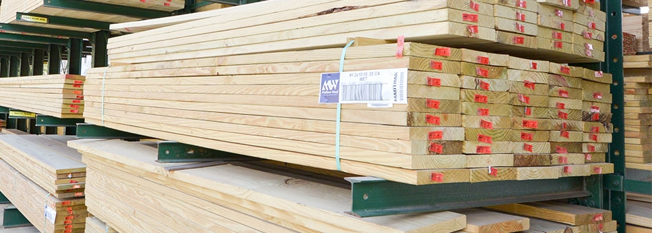We also provide pressure treated lumber for any type of home improvement project or deck! Please contact one of our sales team experts today to get pricing and more details!
