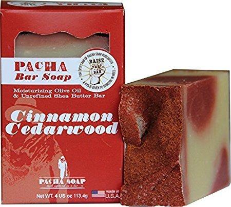Pacha Cinnamon Cedarwood Soap