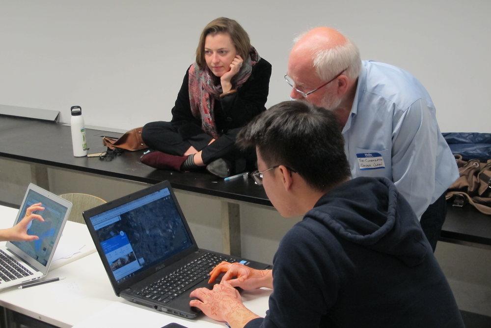 Team & Mentors Consult, Cooper Union Workshop
