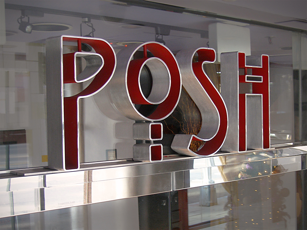 ENTRANCE HEADER - POSH