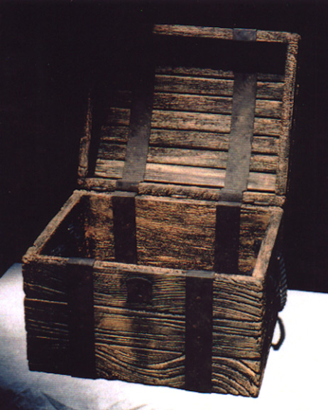 TREASURE CHEST - PHOTO PROP