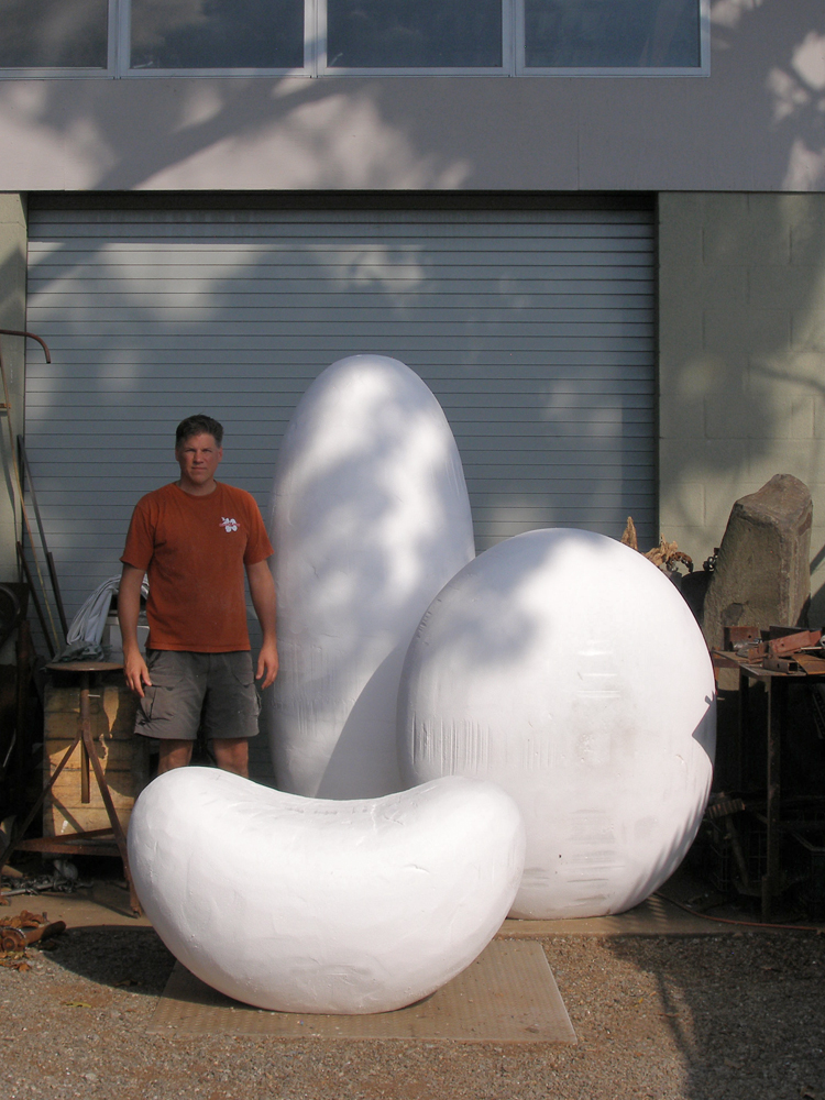 FOAM SHAPES - VALERIE THEBERGE