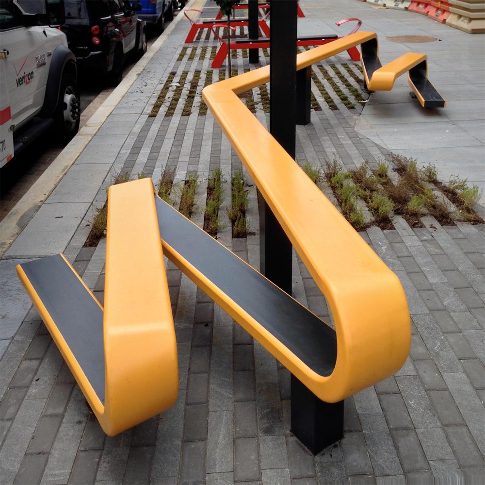 Ribbon Benches - JBG inc.