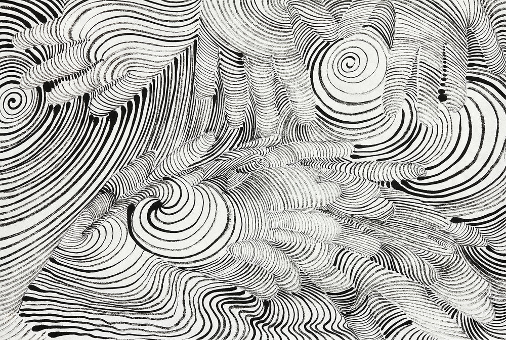 Handscape     ink on paper  11x17in  2014
