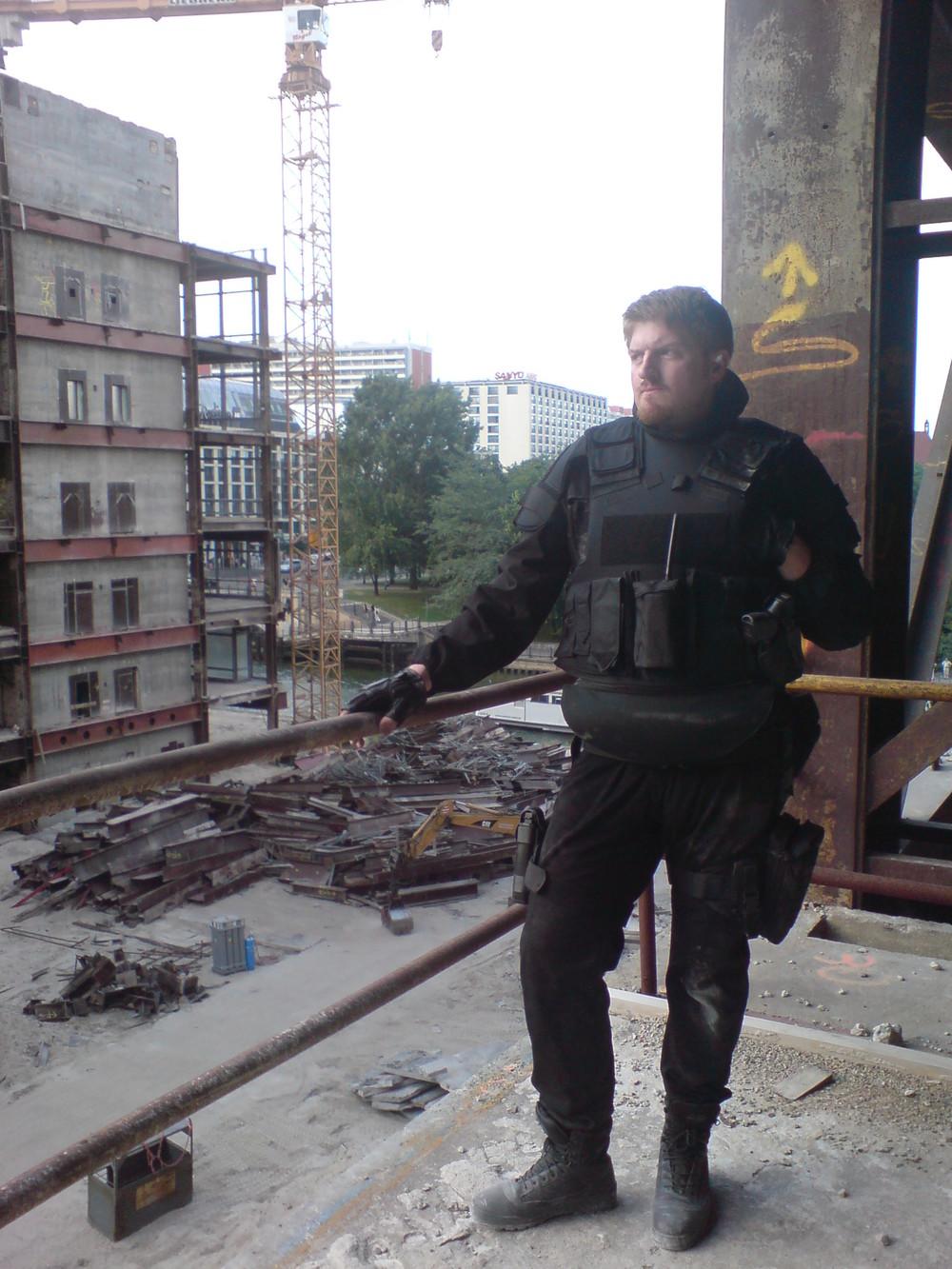 """""""GSG 9: Erstschlag"""", Regie: Hans-Guenther Bücking, Berlin 2007"""