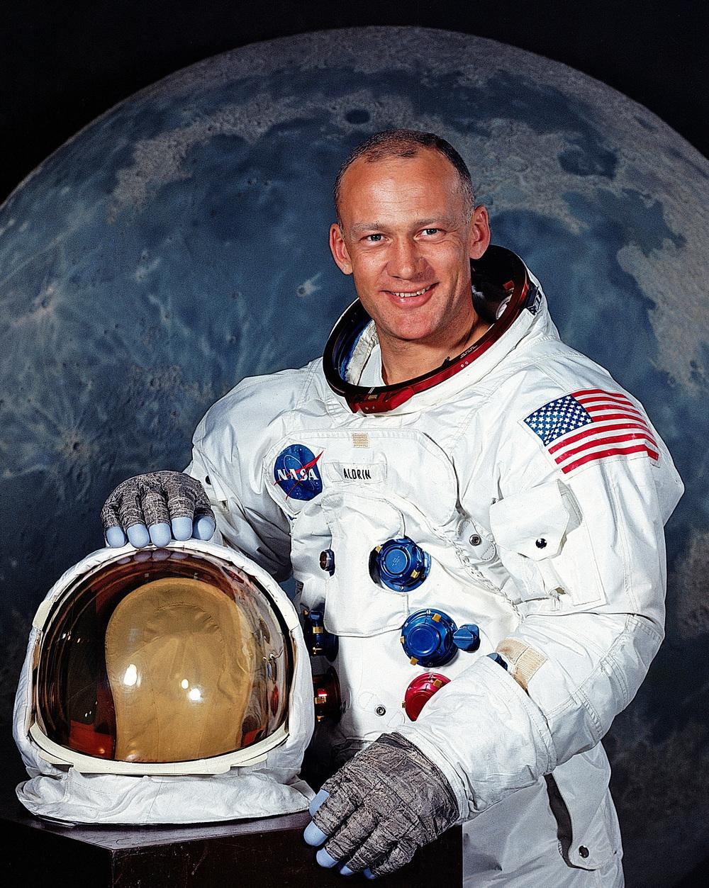 Buzz Aldrin's Official NASA Portrait
