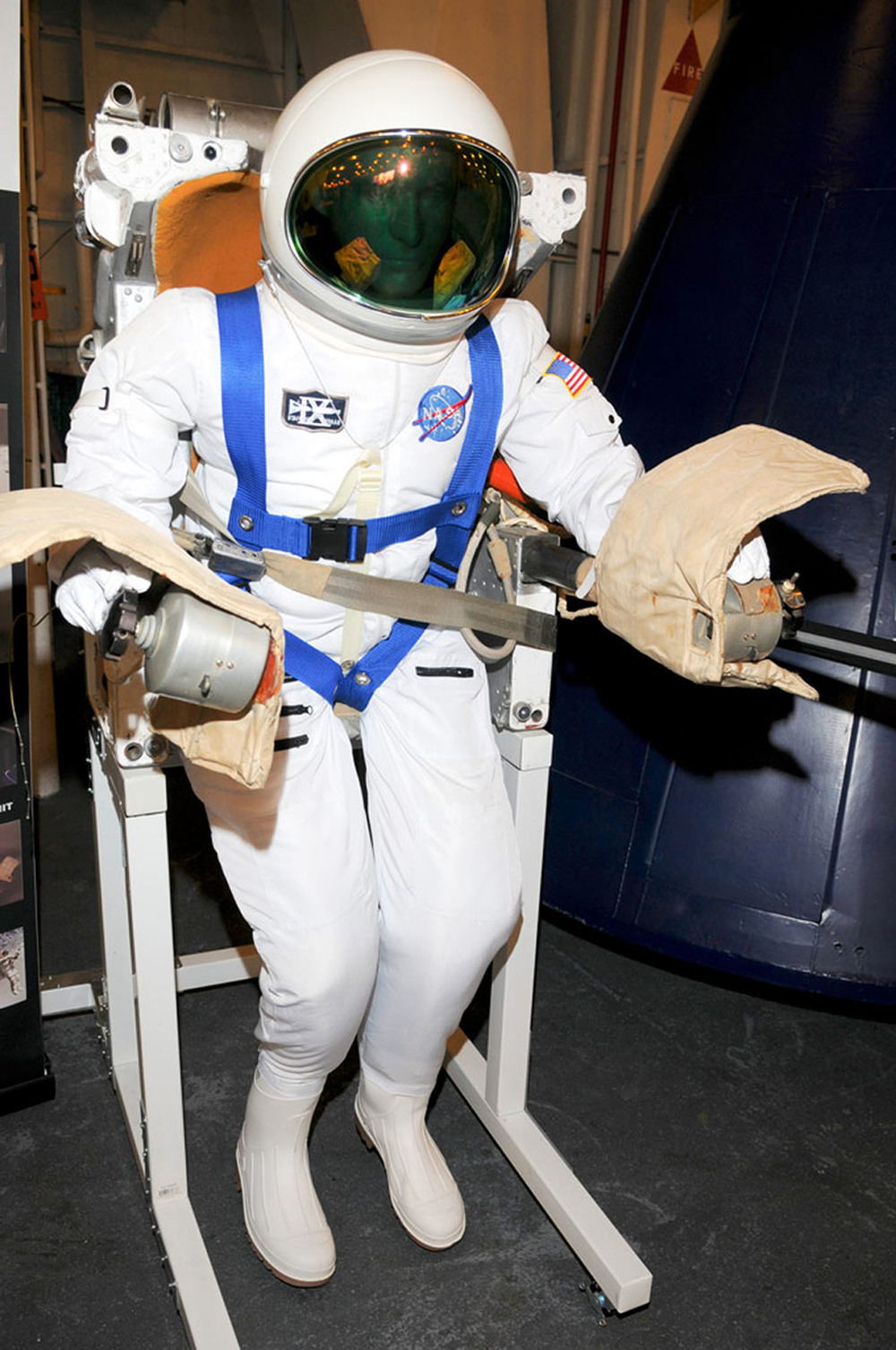 Spacesuit from Splashdown in 2009 | Photo by Susan Wood