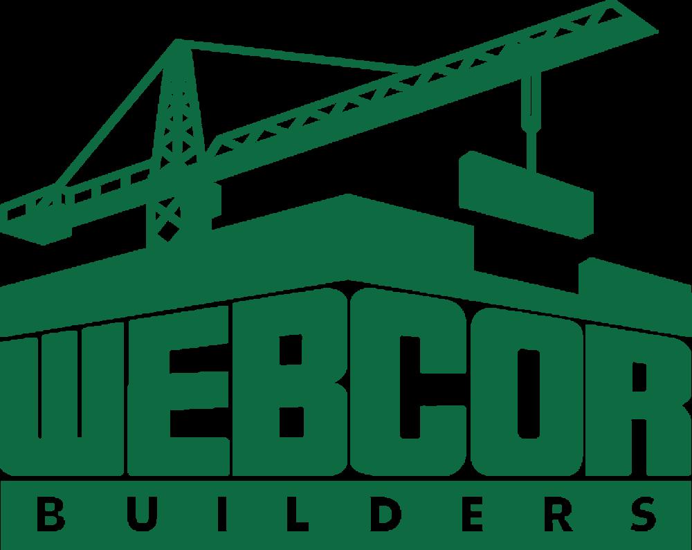 Webcor sponsor logo for USS Hornet Museum