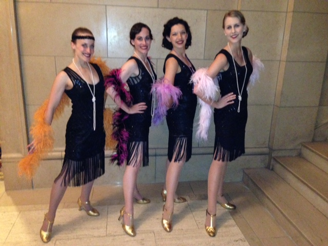 The Decobelles will also perform. The Decobelles are a troupe of charming young women who perform chorus dances of the Hollywood era at celebrations and special events. Their nostalgic look and choreographed dance routines are proven crowd pleasers.
