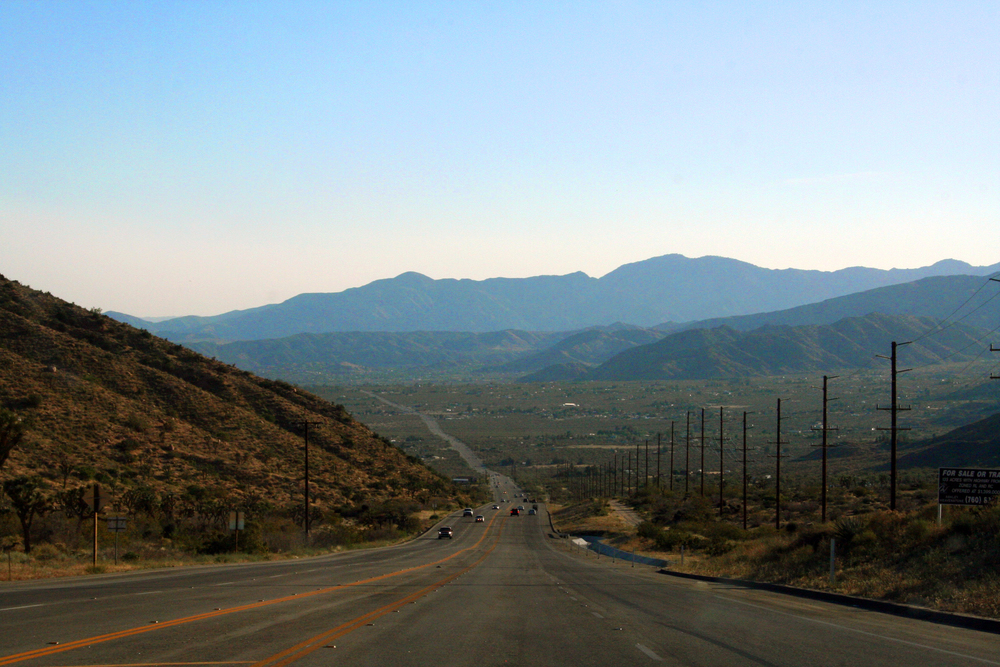 route 10, california