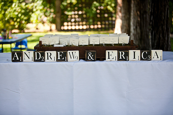 welcome to Andrew and Erica's wedding day